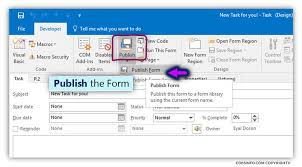 open outlook template how to create publish organizational forms in office 365
