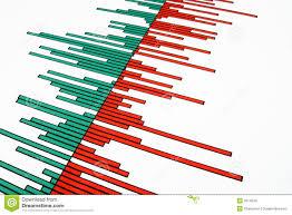 Bars On A Stock Chart Stock Illustration Illustration Of