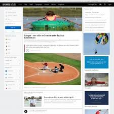 Baseball Websites Templates Cricket Match Sports Website Template