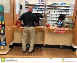 Walgreens Gilbert Az Customer Inside A Pharmacy Shop Editorial Stock Image Image Of