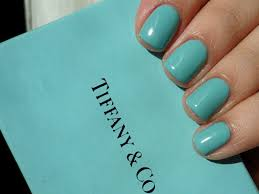 Light Blue Nail Polish Names Tiffany Blue Is The Colloquial Name For The Light Medium