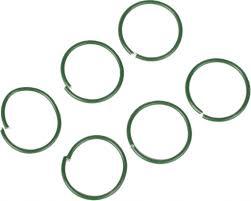 <b>Кольца</b> Listok для <b>подвязки</b> d2,8см 50шт