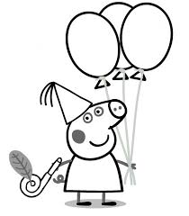 Peppa Pig Coloring Pages Getcoloringpagescom
