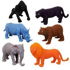 plastic zoo animals toys. Interesting Plastic Plastic Jungle Animal Figurines For Zoo Animals Toys A