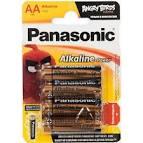 Батарейка PANASONIC LR06 (AA) Alkaline Power 1x4 шт. (LR6REB/4BPU)