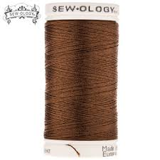 Coffee Polyester Embroidery Thread
