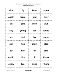 Sight Word 1st Grade 1st Grade Sight Words Barca Fontanacountryinn Com
