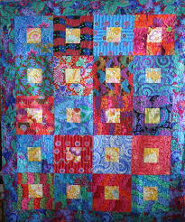 826 best Kaffe Fassett images on Pinterest | Jellyroll quilts ... & Kaffe Square in a Square. Quilt PatternsQuilting ... Adamdwight.com
