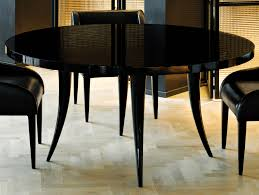 ideas of nella vetrina sabre modern italian round black wood dining table about lacquered dining tables