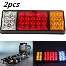 Truck Tailgate Lights Details About 2 Pcs 36 Led Tail Lights Rear Ute Trailer Caravan Truck Boat Car Indicator Lamp