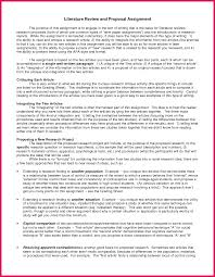 Research Proposal Literature Review Example Apa Seven Ways