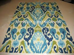 blue ikat area rugs x contemporary abstract indoor outdoor blue green area rug ikat ivory blue