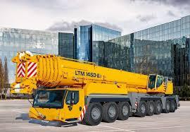 Liebherr 500 Ton Crane Load Chart Liebherr Unveils Ltm 1450 8 1 Crane With 500 Ton Capacity