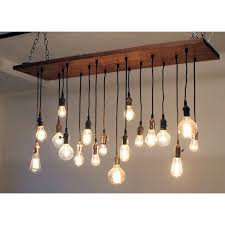 Rustic Bathroom Vanity Lights Magnificent Reclaimed Barn Wood Chandelier With Varying Edison 4848 R