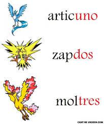 pokemon names