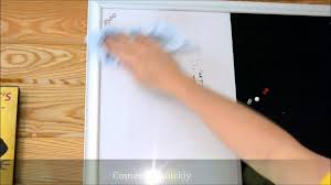 How To RESTORE A Damage Dry Erase Board Whiteboard - YouTube