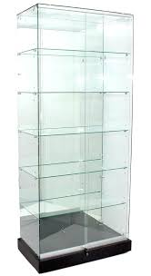 Glass cabinet doors lowes Cupboards Glass Cabinet High Mirror Back Upright Glass Cabinet Showcases Glass Front Cabinet Doors Lowes Vuexmo Glass Cabinet High Mirror Back Upright Glass Cabinet Showcases Glass