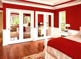 sliding closet doors for bedrooms mirrored interior and closets by modern bedroom door home depot