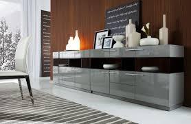 modrest daytona modern grey high gloss buffet