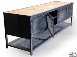Industrial Kitchen Island Custom Industrial Kitchen Island Reclaimed Wood Steel Real
