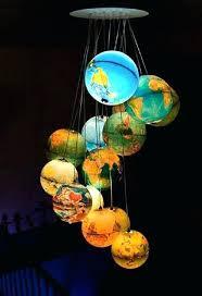light globes for chandelier earth globe chandelier 8 light globe chandelier