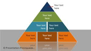Blank Pyramid Diagram Powerpoint Segmented Pyramid Powerpoint Diagram Series