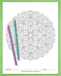 This is set 3 in my mandala. Detailed Mandala Coloring Pages By Thaneeya Mcardle Set Of 10 Printable Mandalas To Color Thaneeya Com