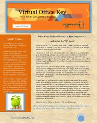virtual office tools. Newsletter 2 Thumbnail Virtual Office Tools C