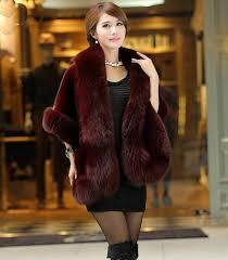 new spring women fur jacket bridal shawl fashion cloak cape coat multicolor poncho faux rabbit fur