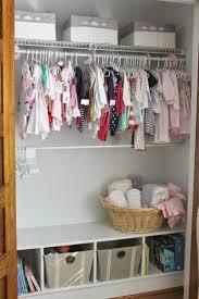 Portable Closet Rod Best 25 Baby Closet Storage Ideas On Pinterest Nursery Closet