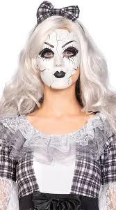 ed porcelain doll mask white doll mask ed doll mask