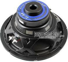 powerbass ps ps single ohm car subwoofer product powerbass ps 12
