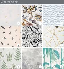 emily henderson wallpaper roundup anthropologie