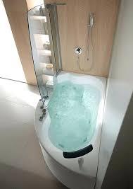bathtubs corner bath with shower ideas corner whirlpool tub shower combination small corner tub with