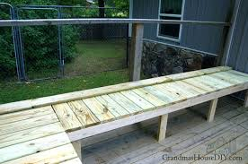 building outdoor benches out door bench plan built into a corner of a green treated deck wood working diy outdoor benches plans