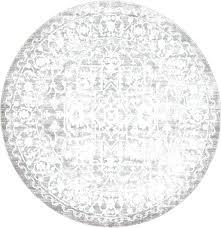 s gray round rug dark 8x10
