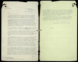 Letter To Churchill The National Archives