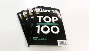 Irish Top 100 Charts Almac Group Soars Up Ulster Business Top 100 Charts Almac