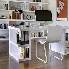 office organization furniture. TemaHome Multi Storage Desk | Built In Shelves All White Office Modern Home Organization Furniture R