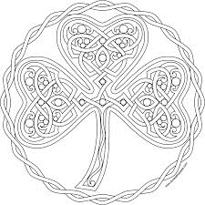 Small Picture Shamrock Coloring Pages Irish Pagepng Coloring Page mosatt