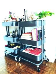 office rolling cart. Rolling Office Cart Mobile Small  I