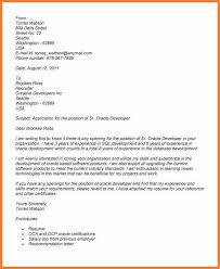 Gallery Of Professional Cover Letter Salutation Cover Letter