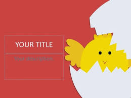 Cute Chicken Powerpoint Templates 4 Presentation