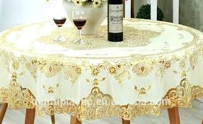 gold table cloths gold table covers round plastic lace tablecloth plastic lace table covers outstanding