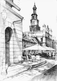 architectural drawings of buildings. 01-Old-Market-Łukasz-Gać-DOMIN-Poznan-Architectural- Architectural Drawings Of Buildings