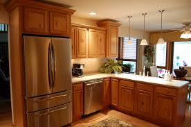 Small Picture Modern Makeover and Decorations Ideas Remodel Oak Cabinets Image