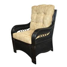 sherry furniture. Lounge ArmChair Sherry Color Black With Cushions. Handmade Eco-Friendly Materials Rattan Wicker Home Furniture - F
