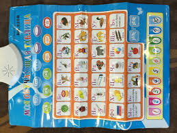 It encompasses all languages spoken on earth. Russian Electronic Baby Alphabet Learning Educational Wall Phonetic Chart Toy 1750455395