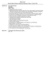 Features Writer Resume Sample   Velvet Jobs