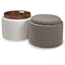 Otis Round or Square Ottoman Scott Jordan Furniture